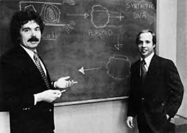 Herbert Boyer y Robert Swanson