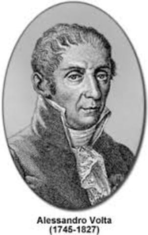 alejandro Volta 1796