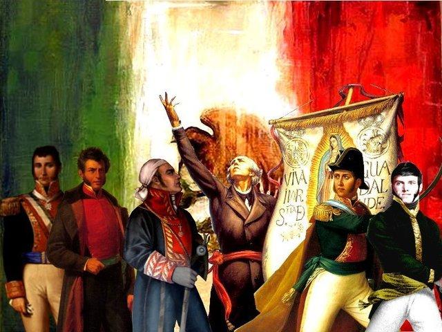 guerra civil que da independencia de españoles (1821-1857)