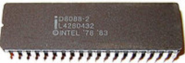ntel 8086, al 1979: Intel 8088