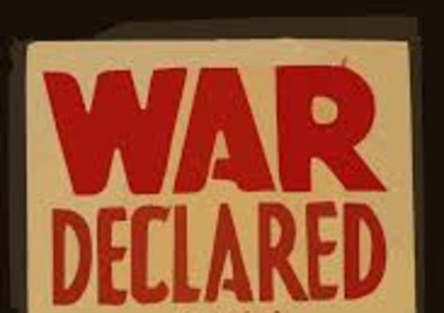 China Declares War to Germany