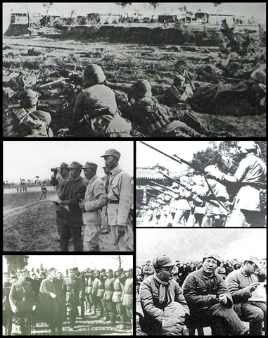 Civil War Reages in China