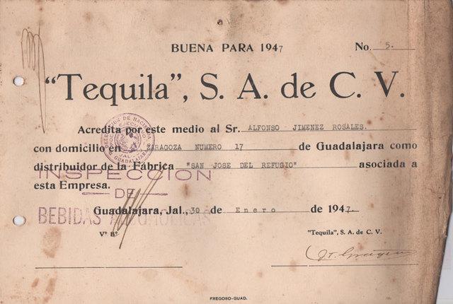 Sociedad Productores de Tequila