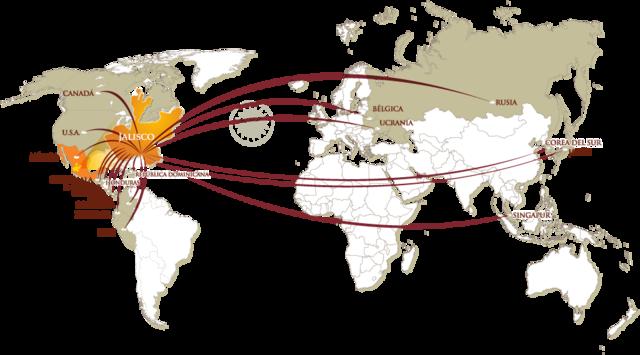 Exportaciones del tequila a nivel mundial