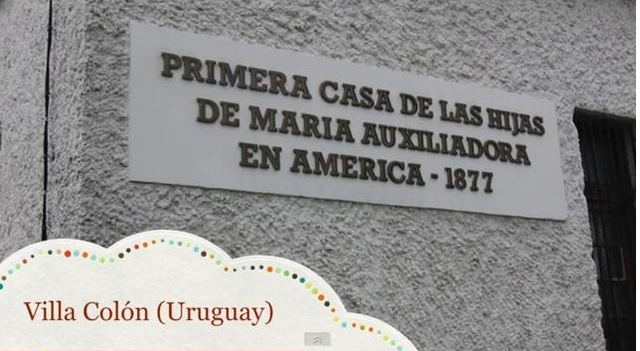 Fundación de la Primera Casa de las HMA en Villa Colón