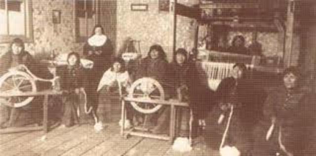 M. Angela visita por primera vez la misión de La Candelaria en Tierra del Fuego