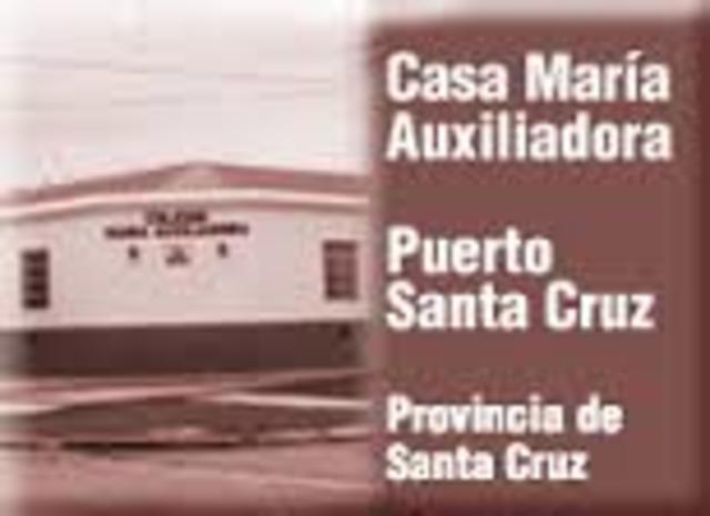 Se funda la casa de Pto. Santa Cruz