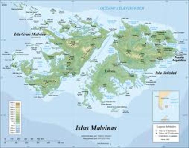 Hace la primera visita a las Islas Malvinas. La casa se había fundado en febrero de 1907