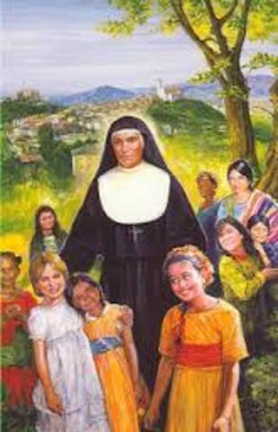 Se funda el Instituto de las Hijas de María Auxiliadora en Mornés, Italia