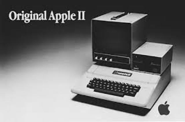 sale el modelo Apple II