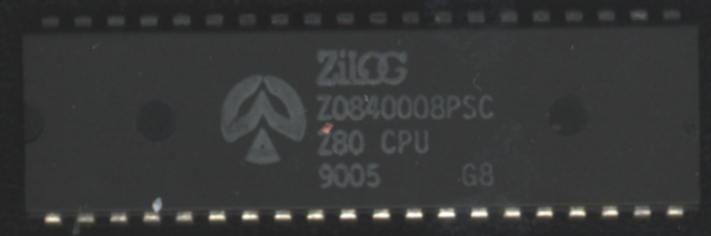 Microprocesador  Z80