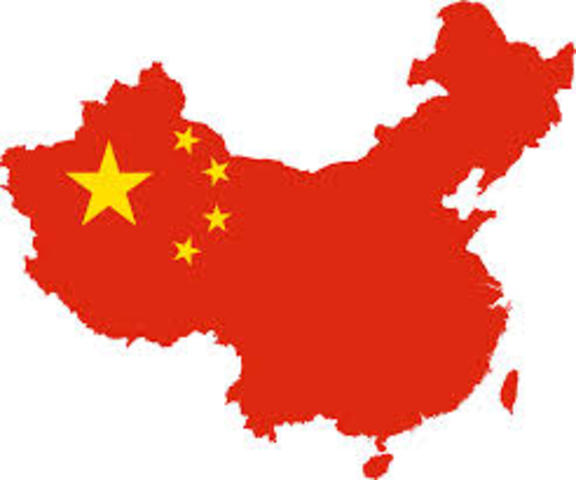 Fouding of The People's Repulbic of China.