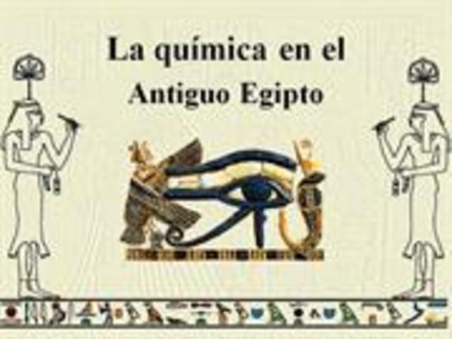 los egipcios y la quimica