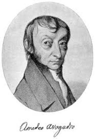 Amadeo Avogadro (1766–1856):