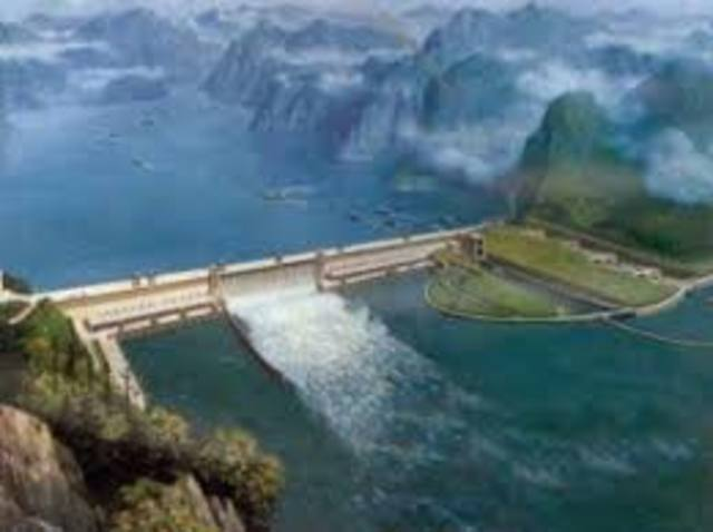 Building of the Three Gorges Dam