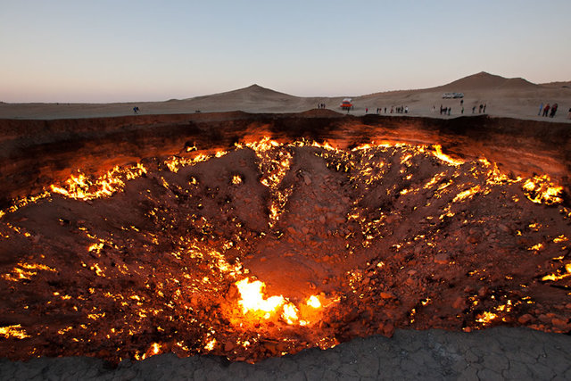 Door to Hell Discovery