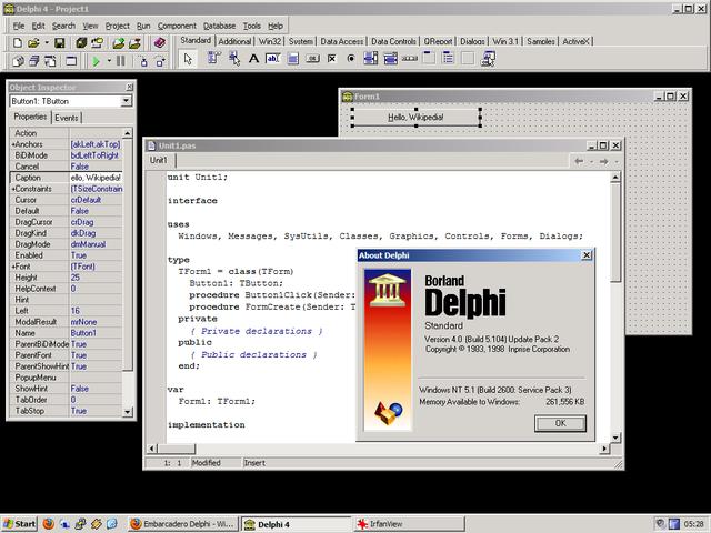 Delphi (Programming Language)