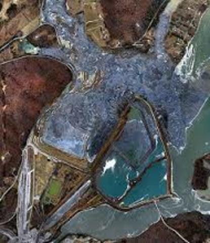 TVA Kingston Fossil Plant Coal Fly Ash Slurry Spill