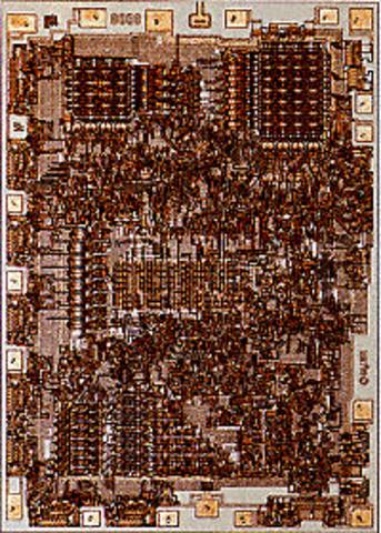 Intels 8008 processer made its debut