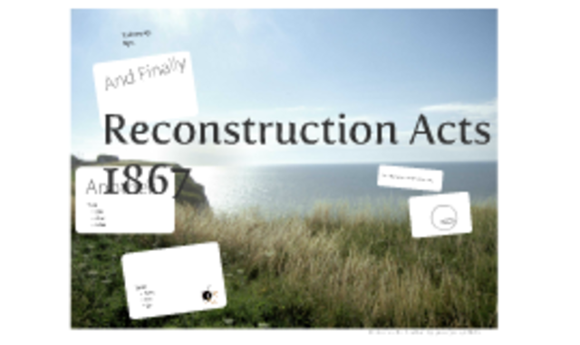 Reconstruction Acts (1867)