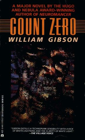 """""""Count Zero"""" by William Gibson published"""