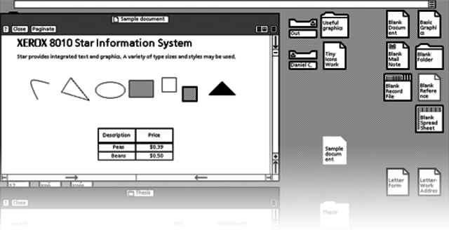 Xerox Star System