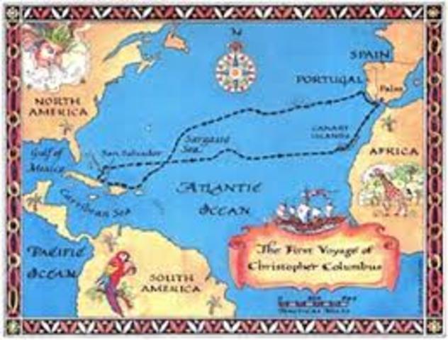 Columbus 1st voyage