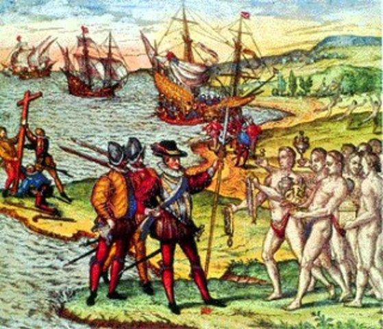 LLegada de Cortés
