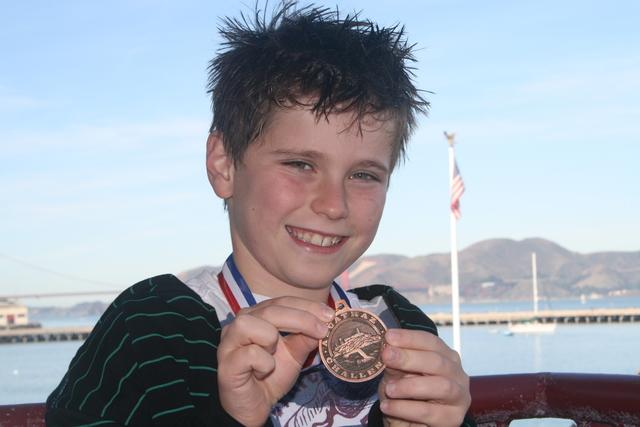 Daniel Swims from Alcatraz