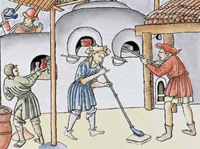 Invención del vidrio 280 a.C