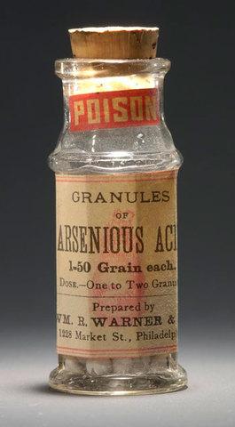 Se utiliza el arsénico como medicamento.