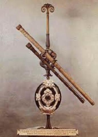 Se crea el primer telescopio
