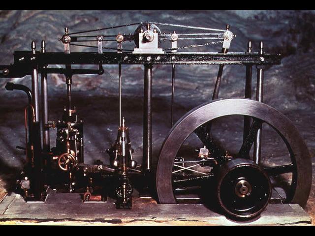 Motor a vapor moderno