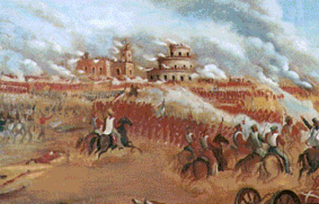 Pronunciamiento de Urquiza, el Gobernador de Entre Ríos. Batalla de Caseros.