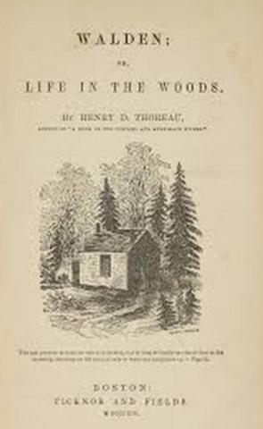 Walden by Henry David Thoreau was published