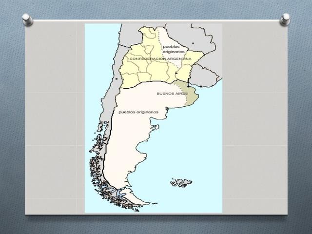 Exilio de Rosas a Inglaterra --- Buenos Aires se opone al Liderasgo de Urquiza y se separa de la Confederación
