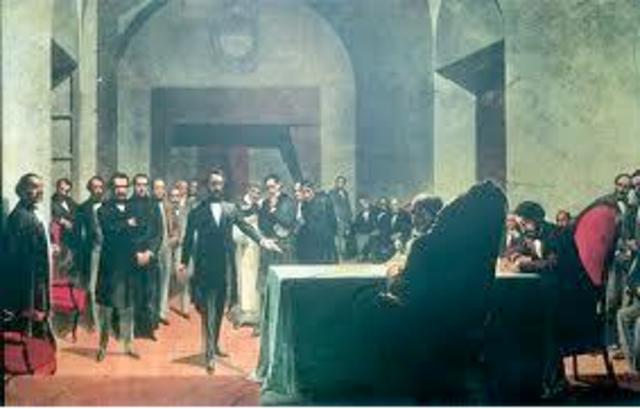 Constitución Nacional. Nuevo Intento de Organización Nacional