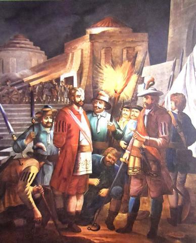 Cortés va a encuentro con Narváez