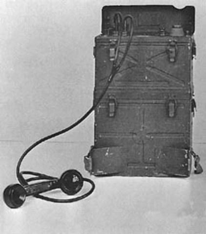 SCR-300 Backpack Radio