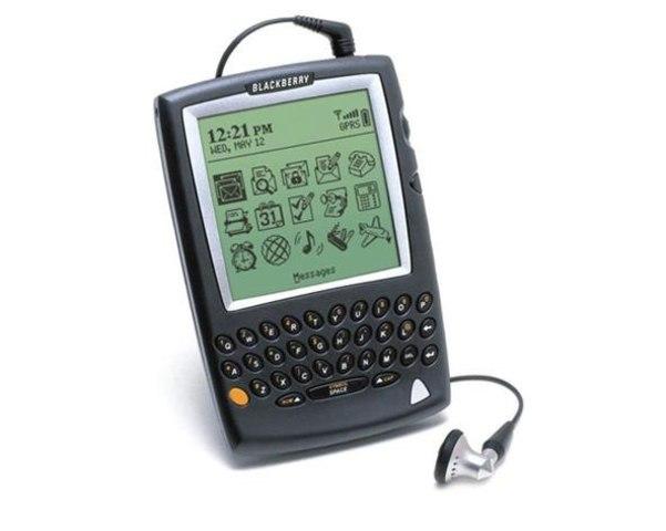 Blackberry 5810, HP Jornada 928, Palm's Treo 180