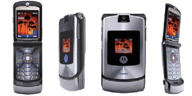 The Motorola RAZR