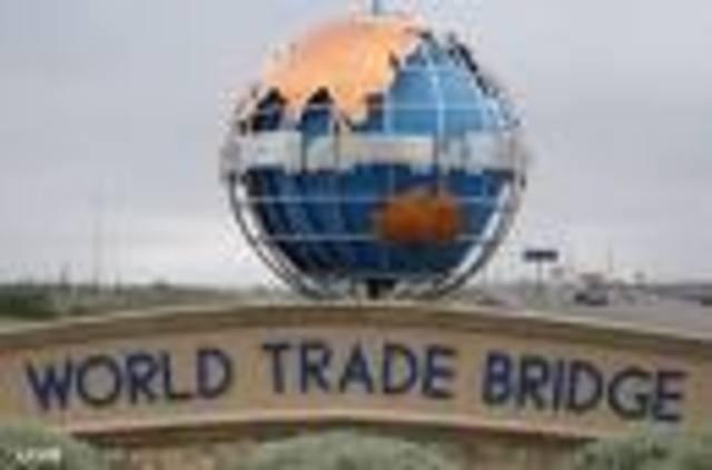 World Trade Bridge opens.