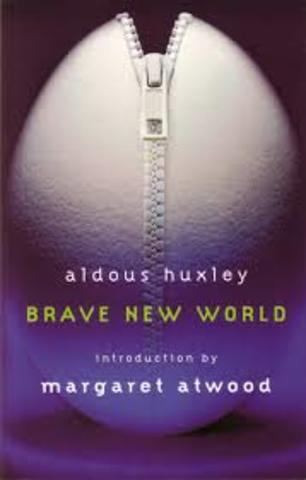 """""""Brave New World"""" By Aldous Huxley is published."""