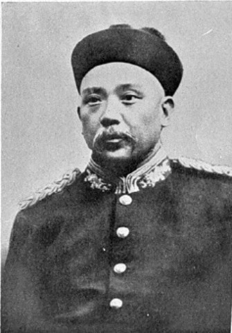Sun turned over the presidency to Yuan Shikai