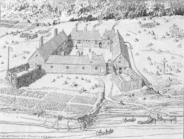 King's frst attempt to establish a settlement