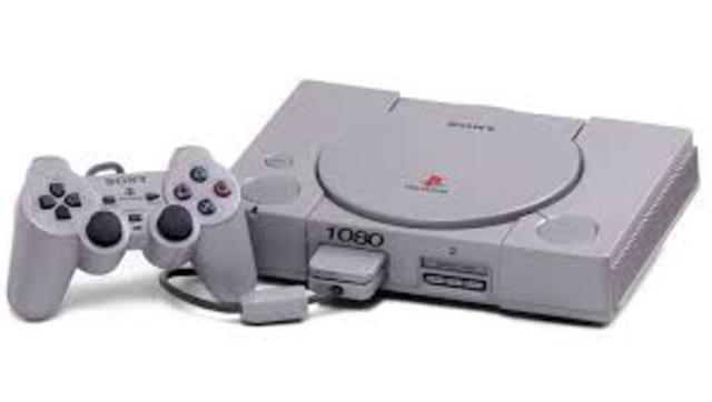 PS1 was invented