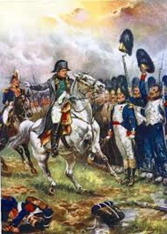 Napolean defeated Waterloo