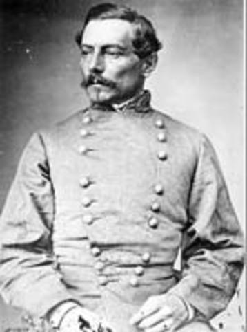 Three Generals in the confederate army