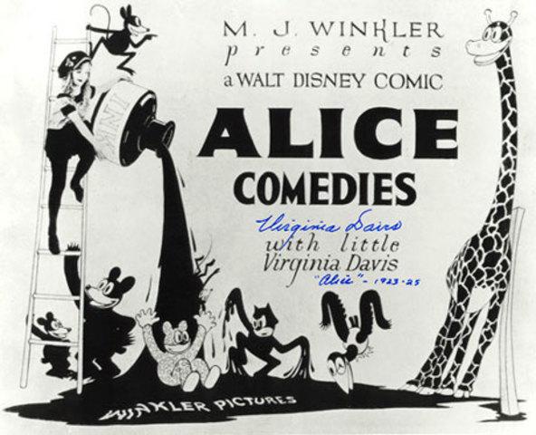 Walt Disney's first cartoon