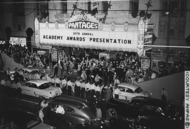 The first Academy Awards